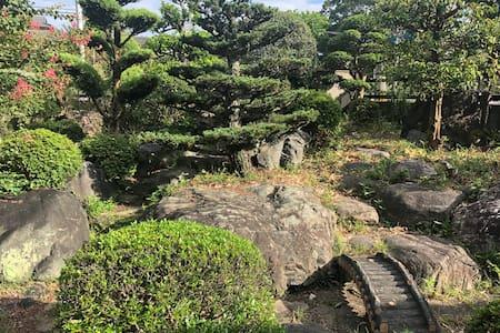 StayLike Locals!Japanese garden&local dinner.