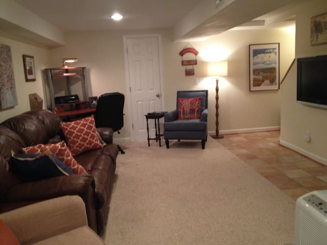 Downtown Clemson home--lower level private entry. - Clemson - Andre