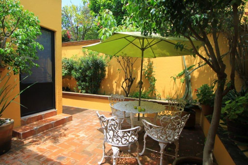 patio common  area
