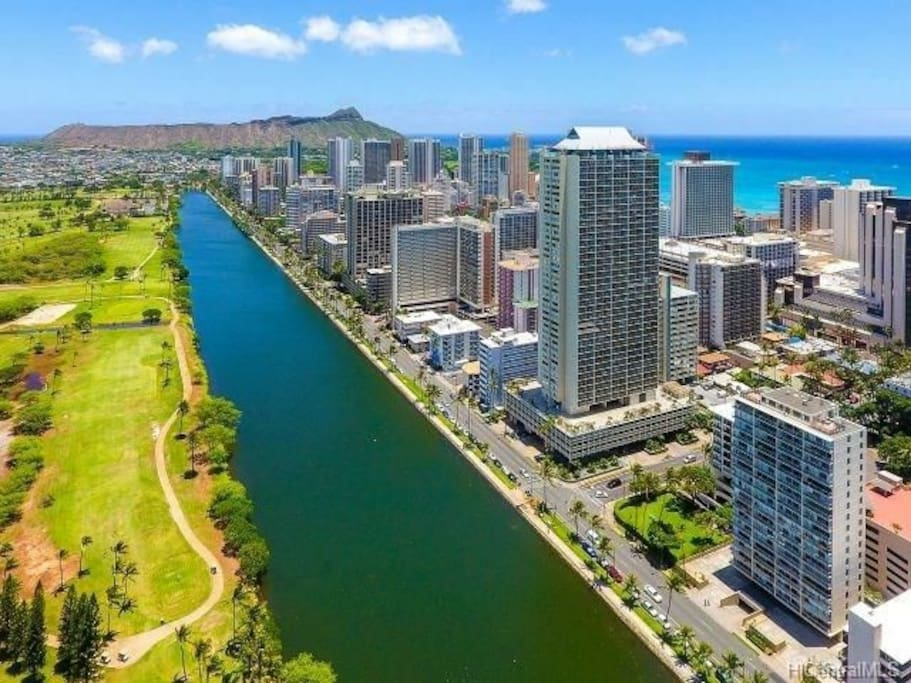 Great Location in Waikiki!  Just a short walk to the beach