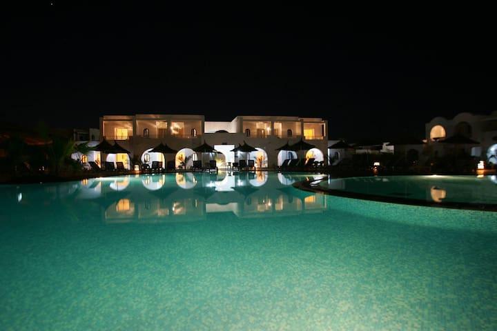 Djerba, Résidence Karim en pension complète