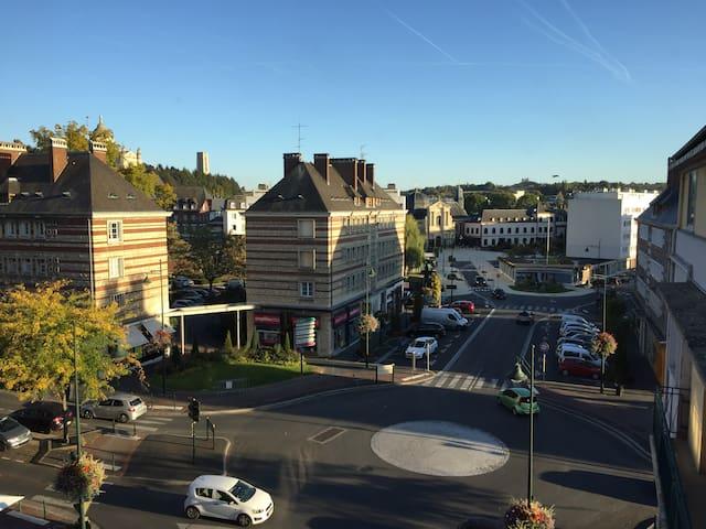 Appartement 50m2 centre-ville de Lisieux