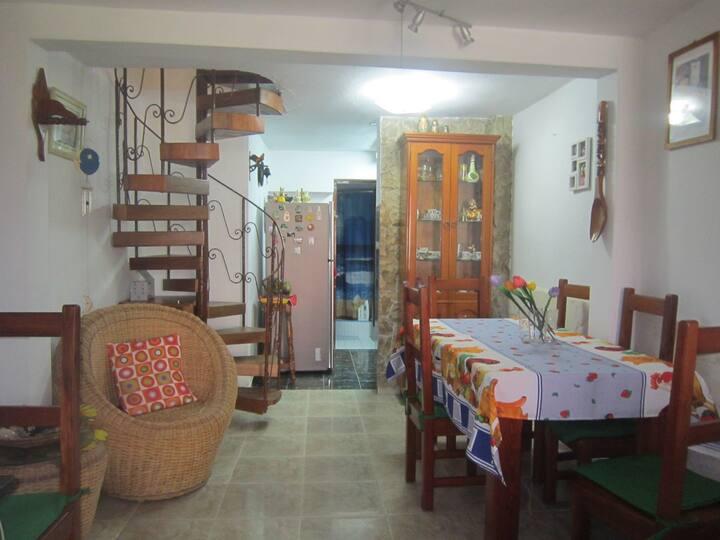 """Xiomara House 1block away """"Cuban Art Factory"""""""