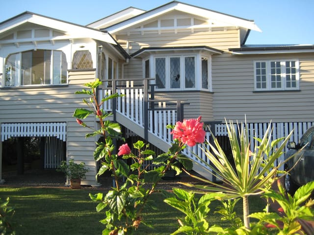 Self-contained room in 1940s Queenslander Home - Maryborough - Casa