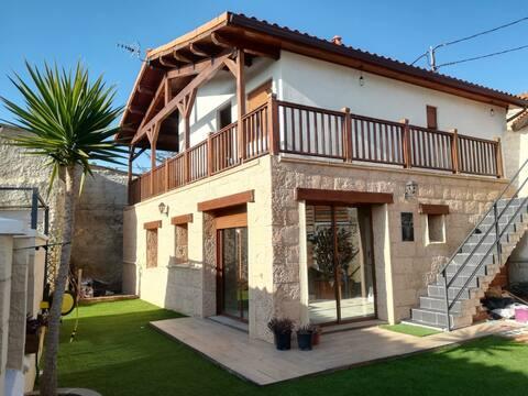 Casa  Eguzkilore ecoeficiente en Torrellas