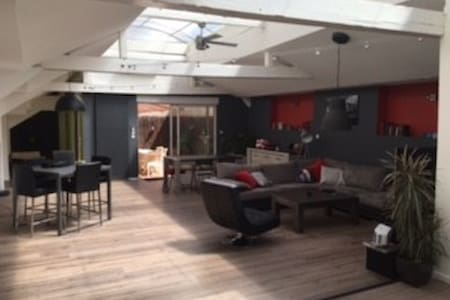 Unique! Amazing Loft with indoor Swimming-pool - Saint-Étienne