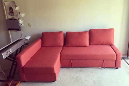Huge, comfortable sofabed in SoCal - Laguna Hills - Lägenhet