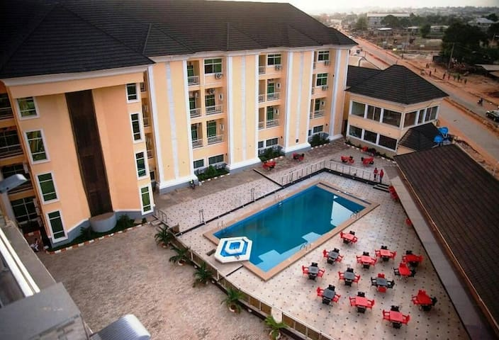 Hampton Towers & Spa- Affordable hotel in Asaba
