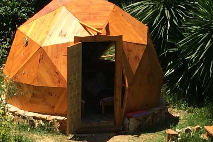 Geodesic Dome - A garden hideaway