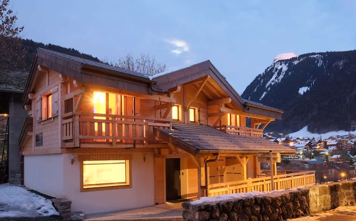 Fabulous chalet in centre of the resort
