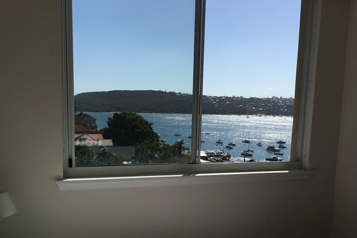 Sunny Manly home with a spectacular view from your room.....imagine WAKING up to this!