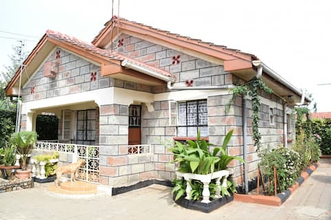 Fully furnished, house in Thika