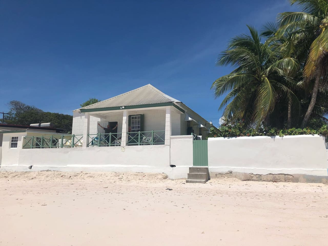 This house really IS on the beach!