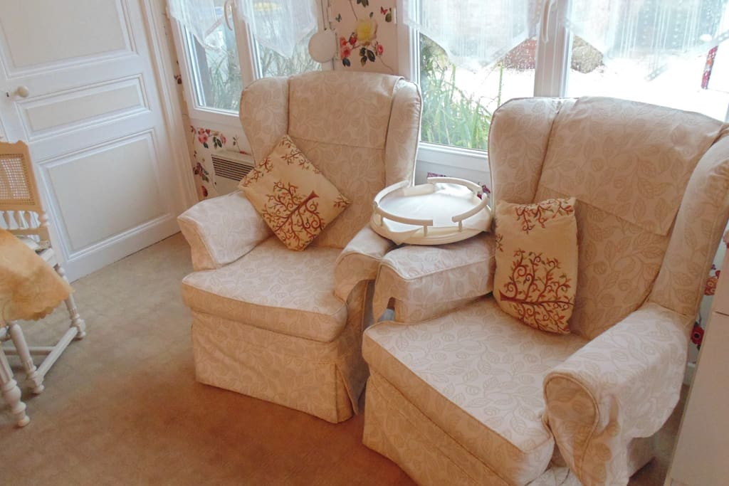 Comfy armchairs