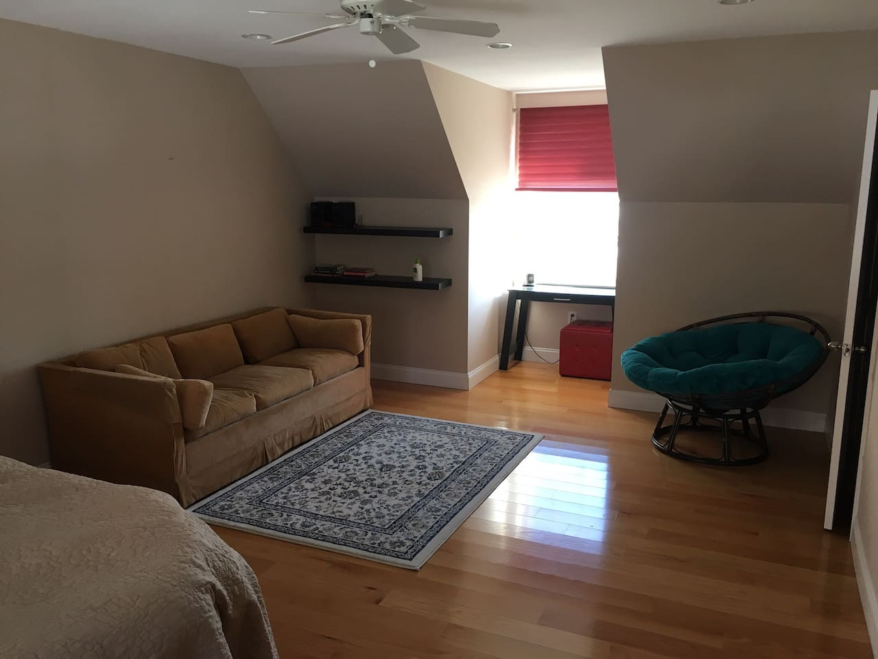 Large Room with queen and pull out sofa beds