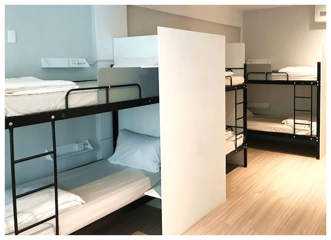 2019全新背包客房 清新簡約 厚實好睡床墊,乾淨衛浴 來交朋友