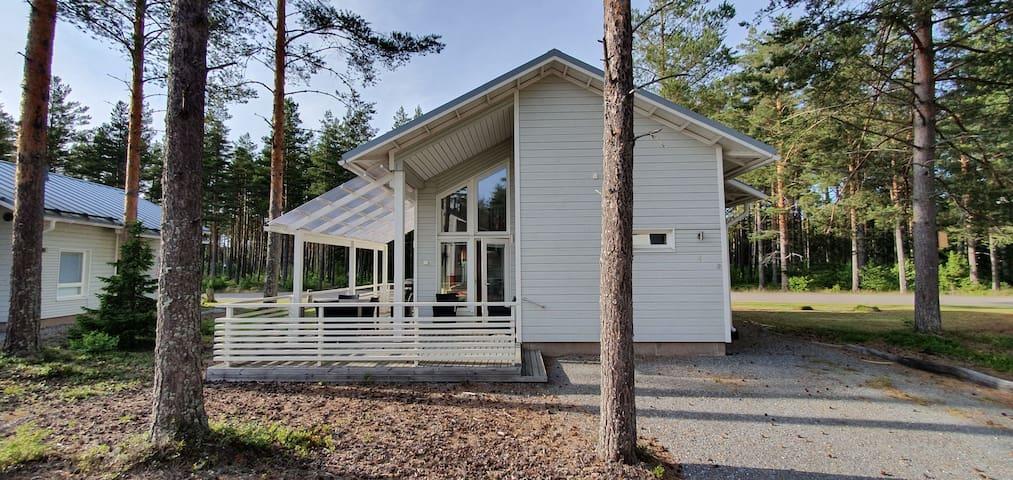 Upea Villa Yyterin uimarannan läheisyydessä