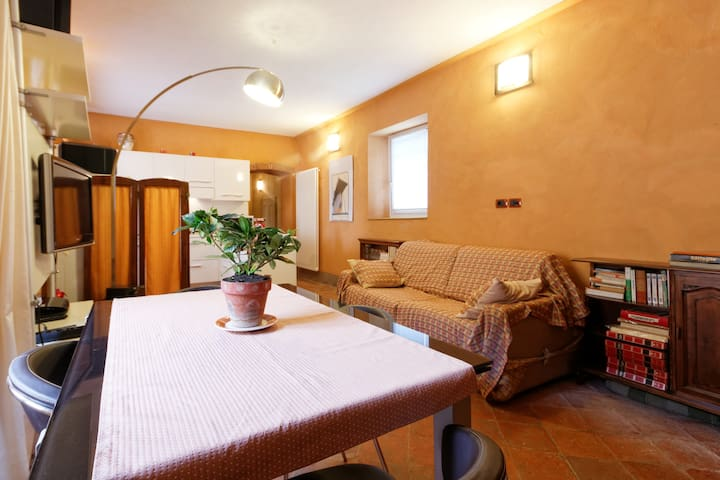 Appartamento in convento del 1300 - Roppolo - Apartment