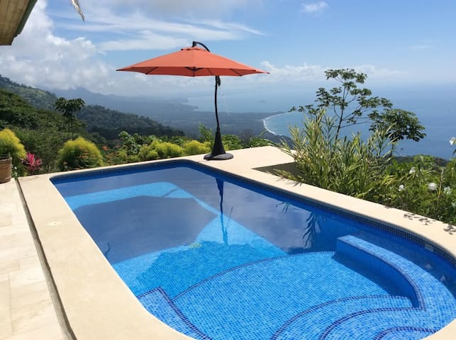 World Class View - 1 or 2 Bdrms in Dominical Home