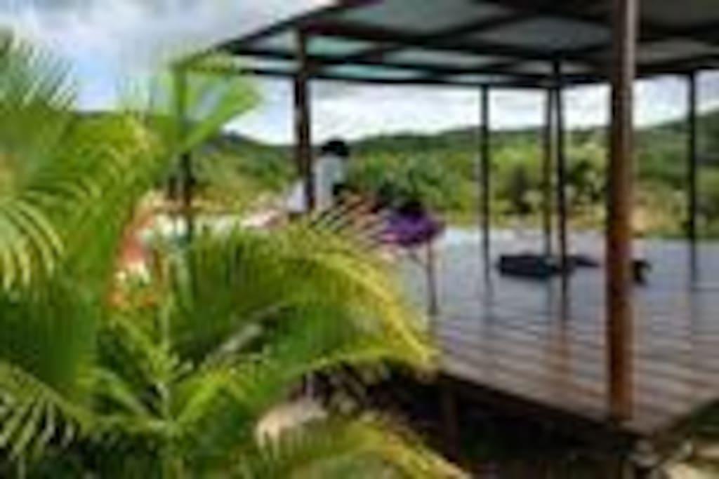 Massage on the deck