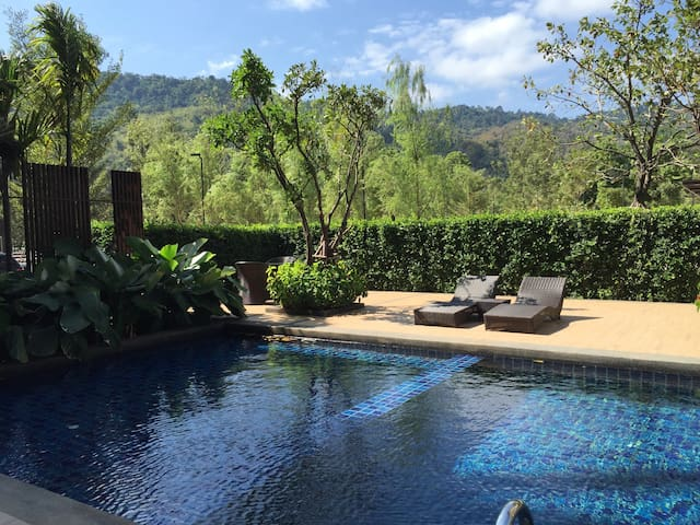 Entire apt w/ great view of Khaoyai national park - Tambon Mu Si - Daire