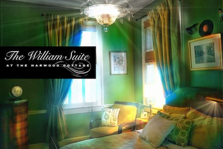 The Harwood Cottage William Suite - Macon - Talo