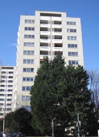 Helle freundliche Wohnung mit herrlichem Ausblick - Karlsruhe - Apartment