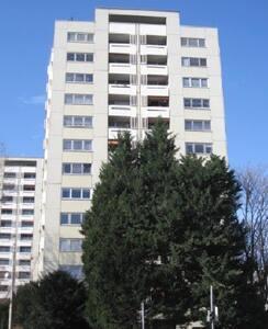 Helle freundliche Wohnung mit herrlichem Ausblick - Karlsruhe - Apartamento