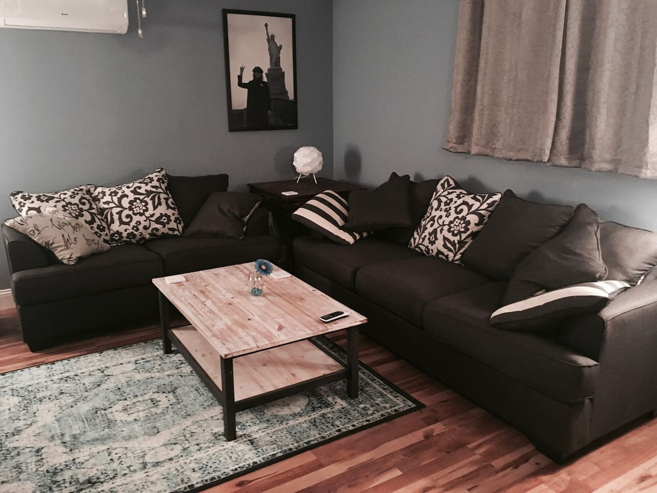 Brand new (Nov 2017) matching sofa and loveseat from Ashley furniture.