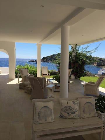 Vistas al mar, piscina y porche - Eivissa - House
