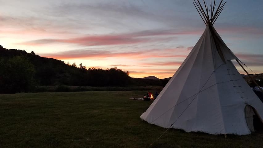 Lava Family Camp Ground West River Tribe Teepee 2