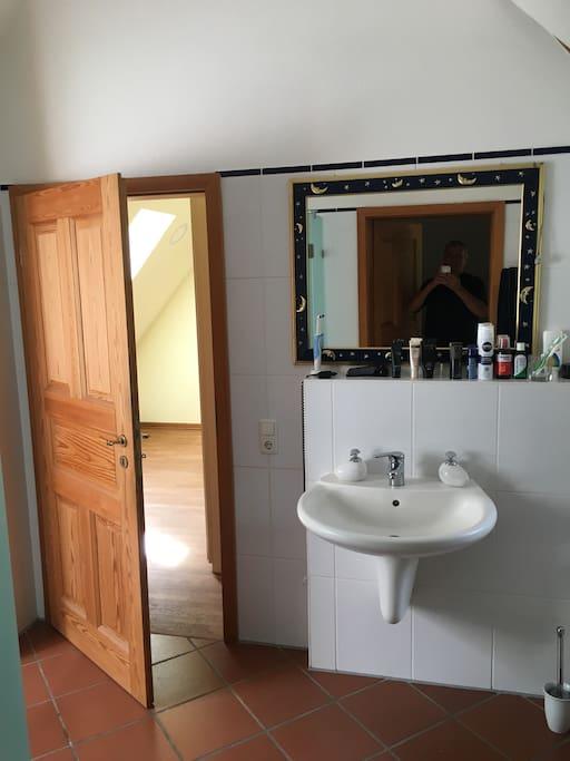 OG Bad en Suite (Zimmer Option 2)