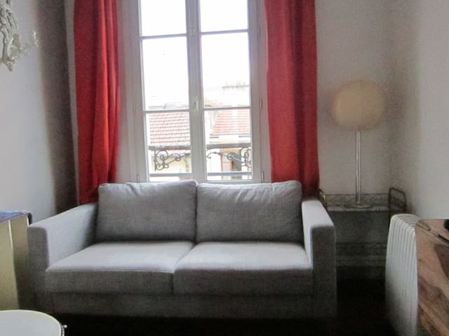 Cozy appartment near a beautiful park - Paris-19E-Arrondissement - Lägenhet