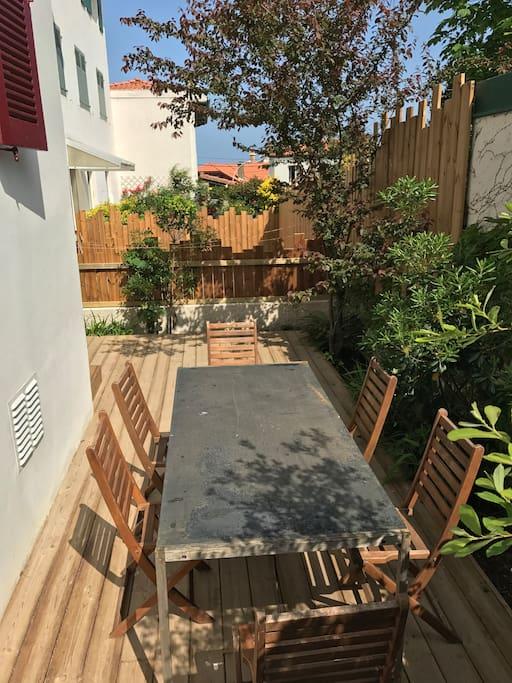 Une terrasse privative de 30m2