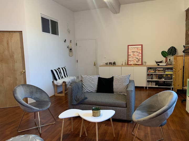 Unique and spacious loft space in Greenpoint
