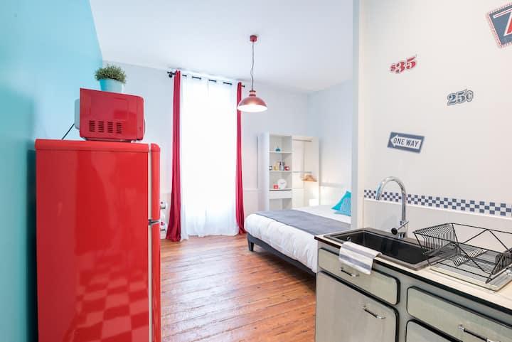 LM Deluxe - Superbe studio idéalement situé avec parking, proche gare et Jean Jaurès