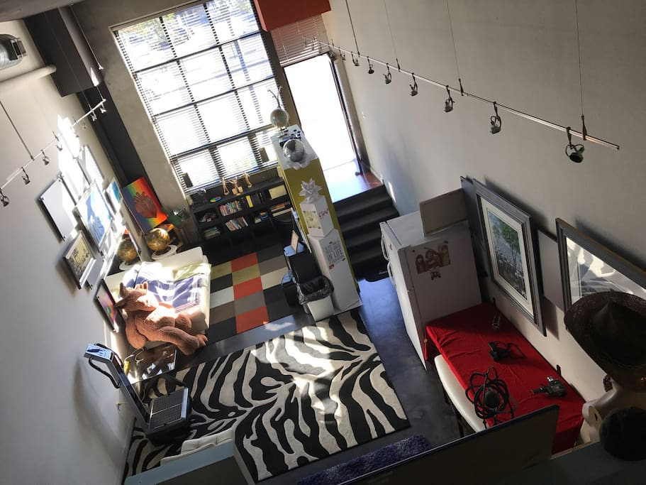 F7even gaslamp art loft 1 lofts louer san diego - Loft industriel san diego californie ...
