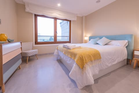 Perfect flat for families that want to relax