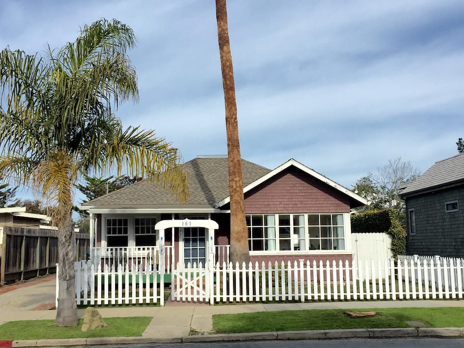 One of the original beach cottages in the Seabright Beach neighborhood. Perfect for larger family gatherings.