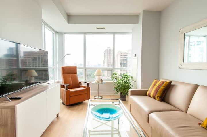 2 Bedroom Luxury Condo,  980sq feet