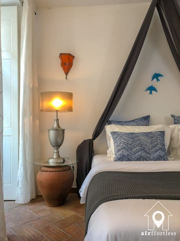 The First Floor Suite has been carefully designed with materials sourced from the local area
