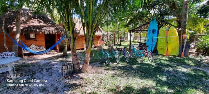 Villa Akbal (8 cuadras de la laguna)#1