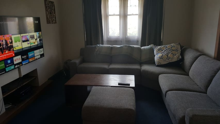 Private room in comfortable house