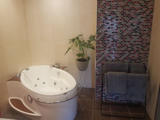 Hotel style room with ensuite & private entry.