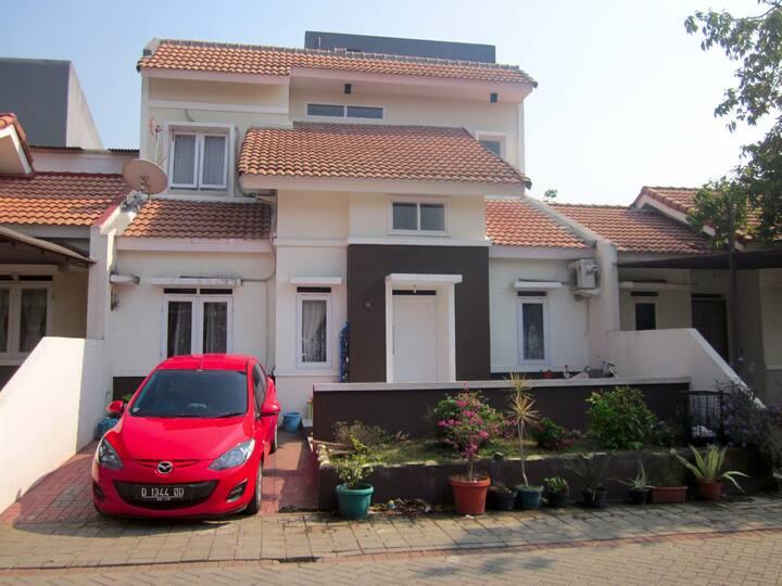 Rumah murah pemandangan indah langsung akses tol