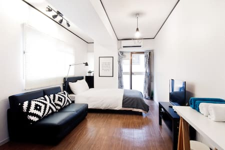 Beside Osaka Castle!Modern style house easy access - Chuo Ward, Osaka - Apartamento