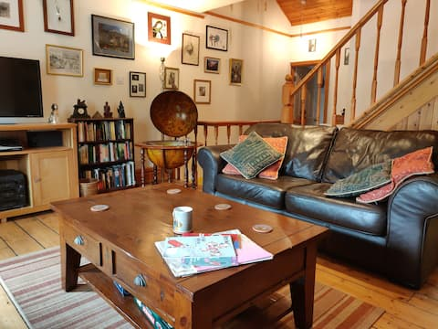 Creative Afan valley home