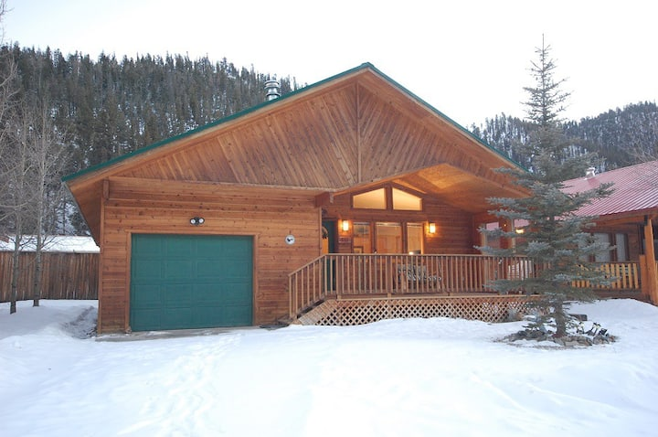 Pinon Valley Cabin - In Town - Near The River - Satellite - Garage Access