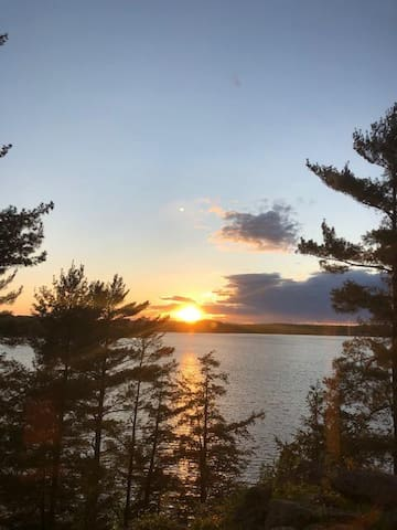 Rosecliff ~ Sunsets galore at this Georgian Bay beauty!