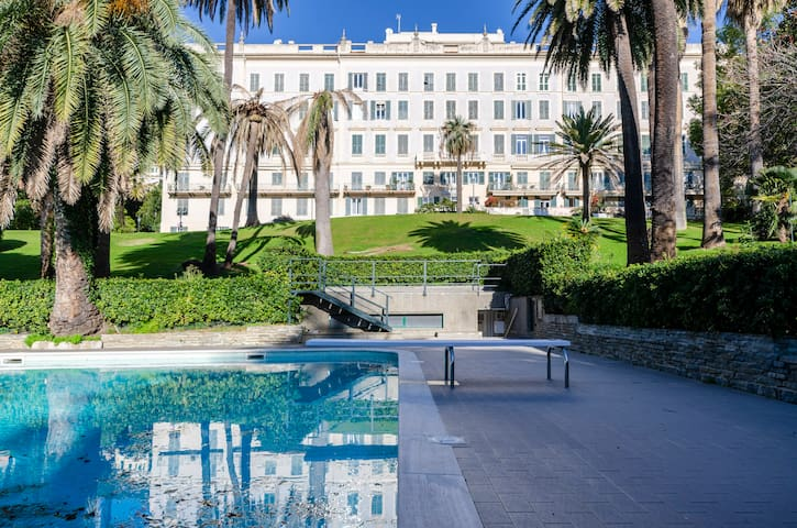 ALTIDO Lovely apt w/ communal pool in Nervi